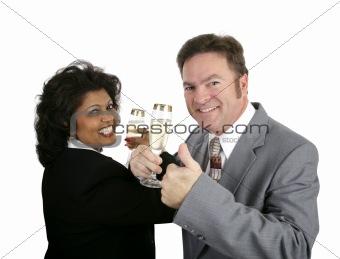 Champagne Couple Thumbsup