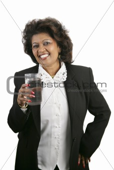 Indian Woman - Refreshment