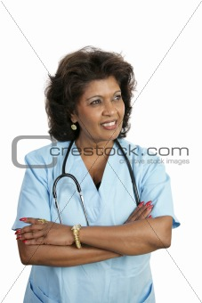 Medical Professional - Thoughtful