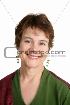 Portrait of Cute Irish Woman