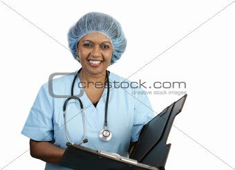 Surgical Nurse - Smiling