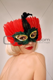 girl in mask