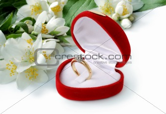 ring & flowers