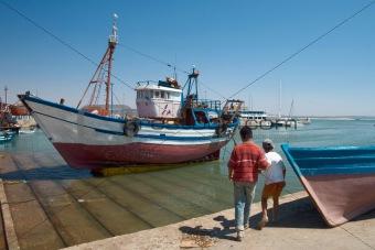 port in Essaouira