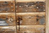 Close up detail of a door
