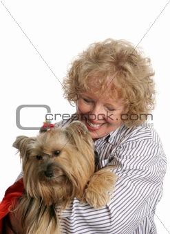 Affectionate Pet Owner