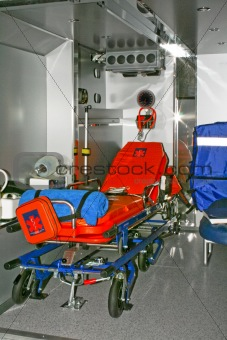 Ambulance bed