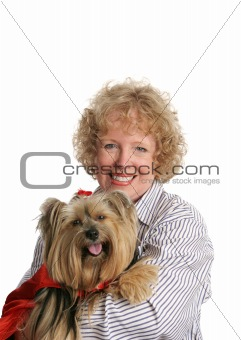 Little Red Riding Dog & Mom