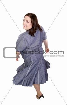 Plus Sized Model  Twirl