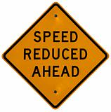 Speed Reduced Ahead