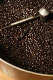 Coffee roaster bean cooling