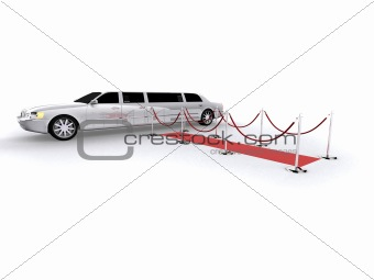 white limousine