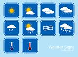 Collection of Weather Signs