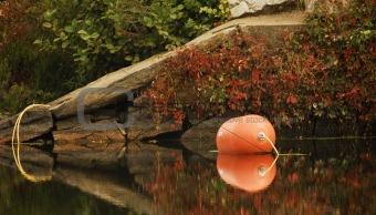 Blackstone warning buoy