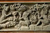 balinese bas relief decoration
