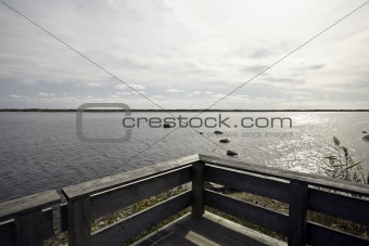 On Trustom Pond
