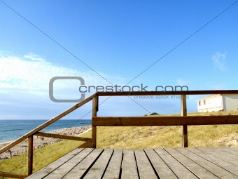Sunny Beach Walk