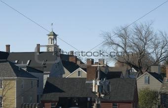 Portsmouth residential skyline