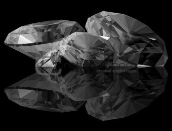 3d Diamonds