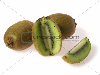 three kiwi and piece