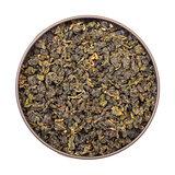 Chinese Green Tea in Tin Jar