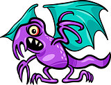 basilisk monster cartoon illustration