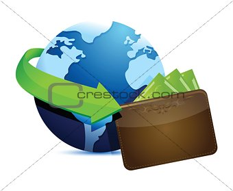 globe wallet