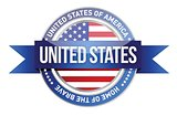 United States of America, USA seal