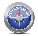 determination Glossy Compass in Spanish