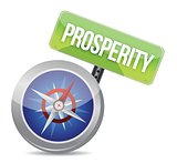 prosperity Glossy Compass