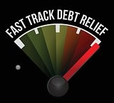 fast track debt relief speedometer