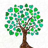 Love concept tree