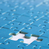 The missing piece in a puzzle