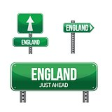 england Country road sign