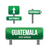 guatemala Country road sign