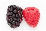 Blackberry and Raspberry