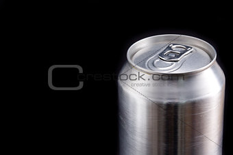 Closed aluminium can