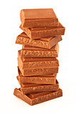 Photo of a pile of chocolate