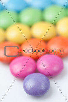 Abundance of candies multi coloured