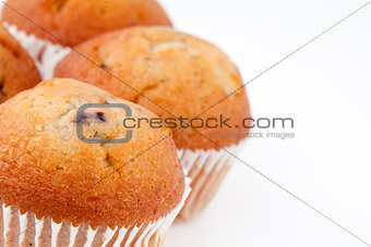 Small baked muffins