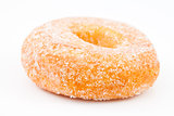 Close up of a doughnut