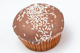 Brown cupcake