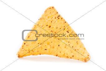 Single triangular crisps