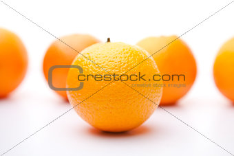 Five oranges