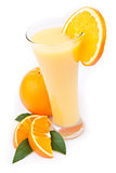 Orange juice ready to drink