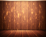Background of brown flooring