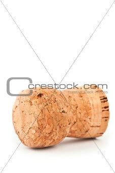 Close up of a cork