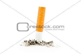 Cigarette extinguished