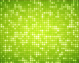 Multiples green dots