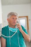 Surgeon calling